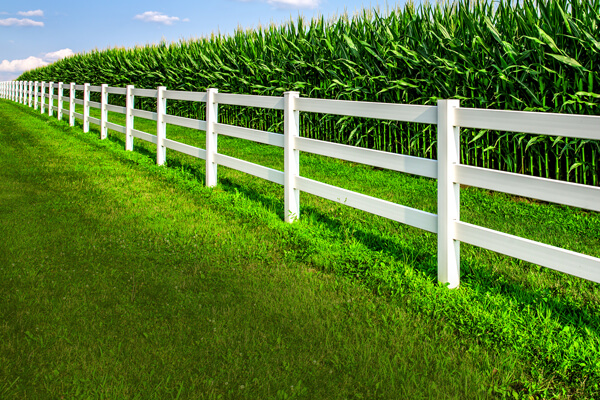 Post and Rope & <br> Post and Rail Fencing